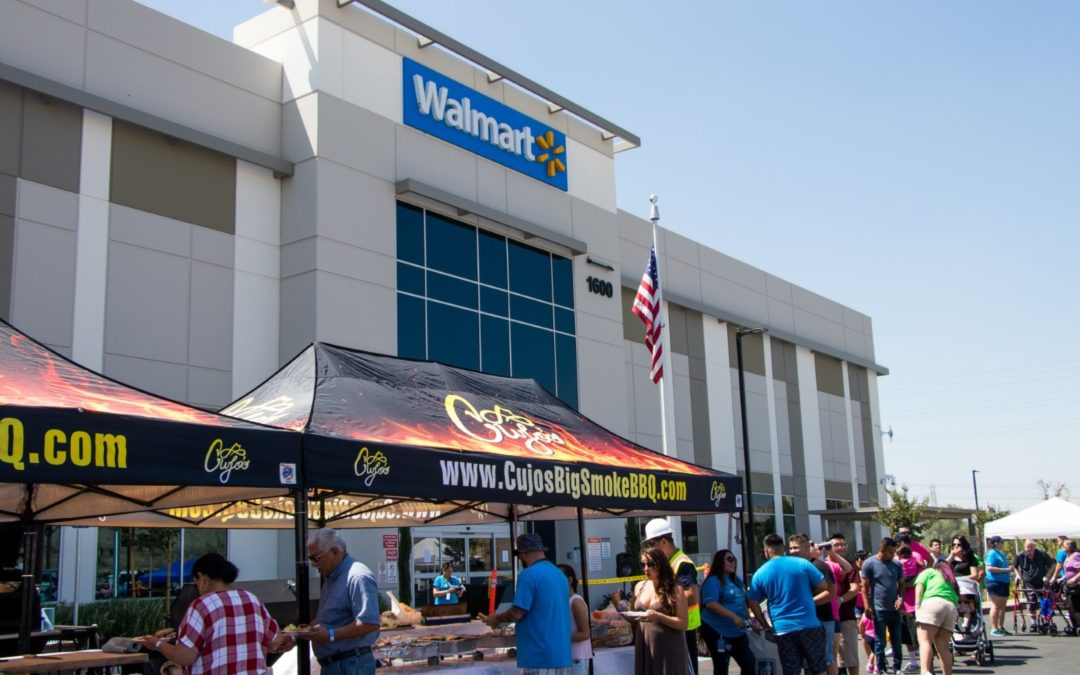 Cooking It Up for Family Day at Walmart's Distribution Center in Colton